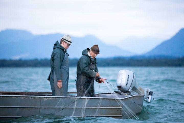 Fischen auf dem Chiemsee